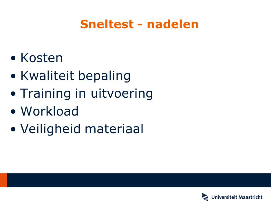 Training in uitvoering Workload Veiligheid materiaal