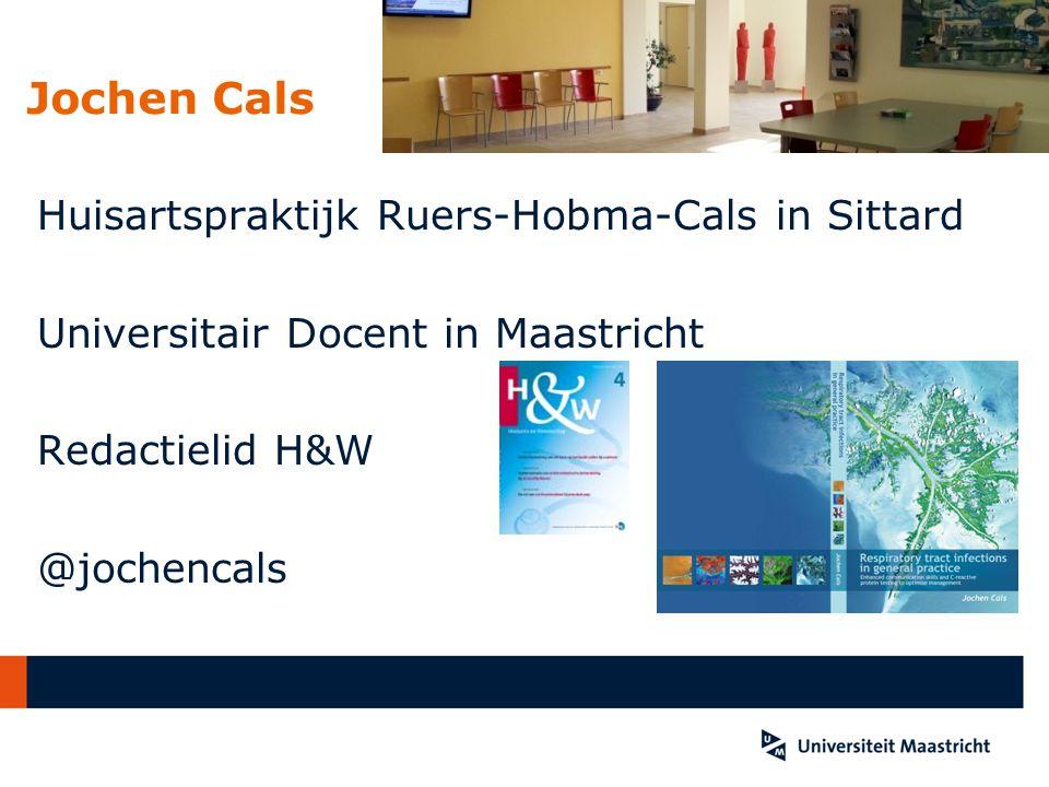 Jochen Cals Huisartspraktijk Ruers-Hobma-Cals in Sittard