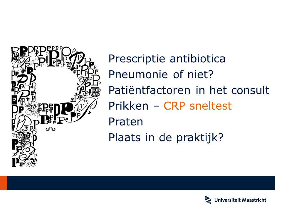 Prescriptie antibiotica