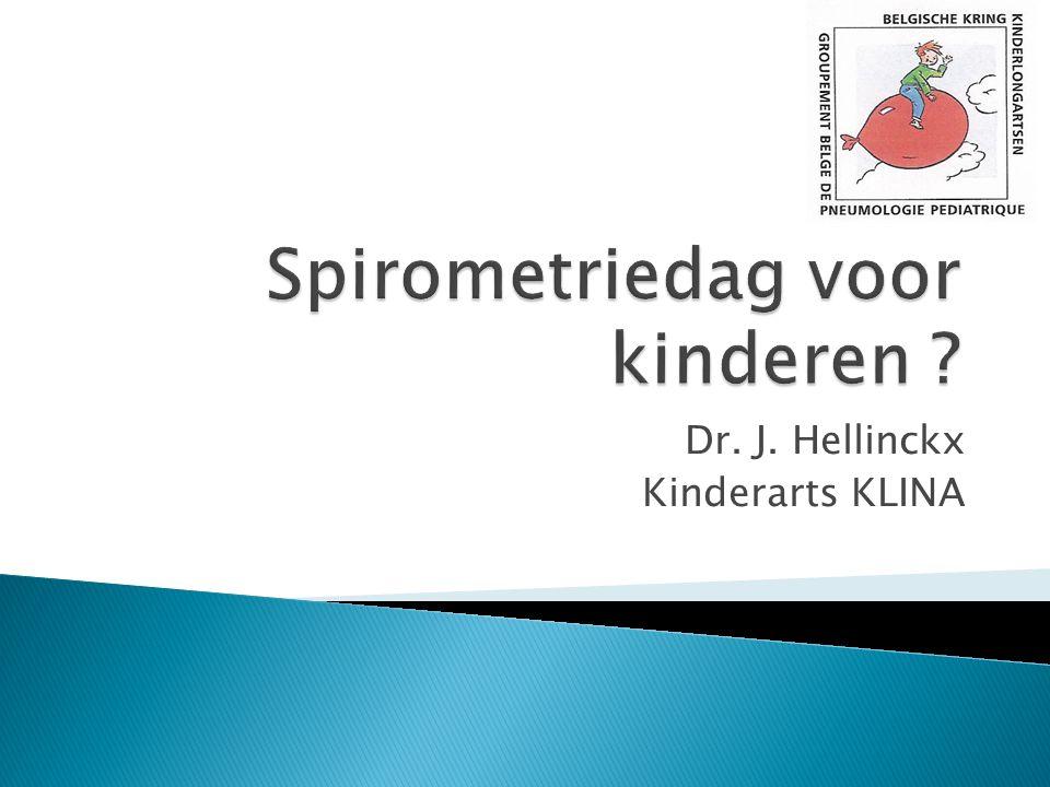 Spirometriedag voor kinderen
