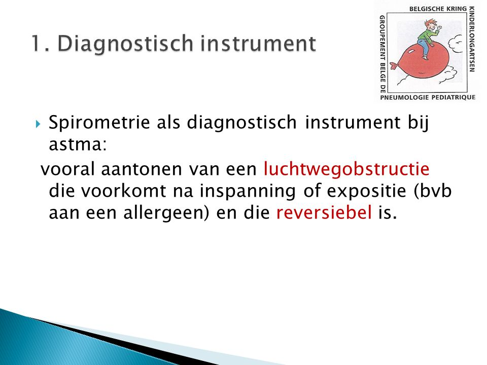 1. Diagnostisch instrument