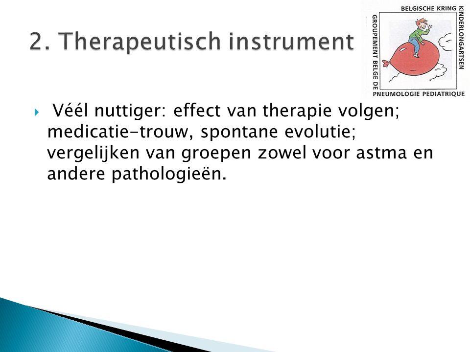 2. Therapeutisch instrument