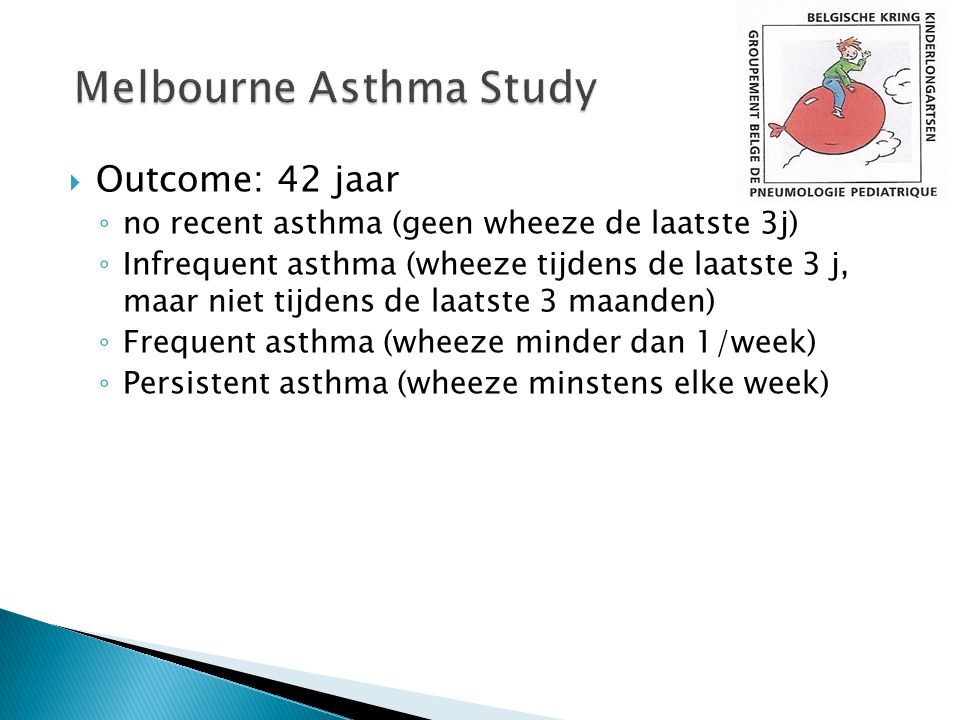 Melbourne Asthma Study