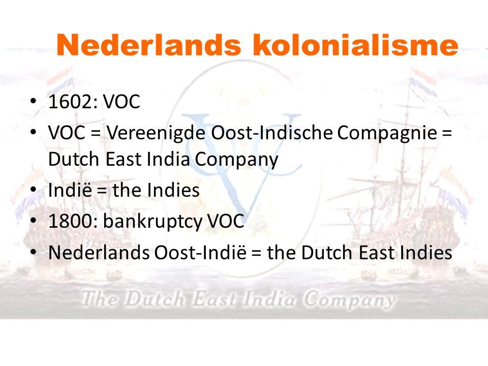 Nederlands kolonialisme