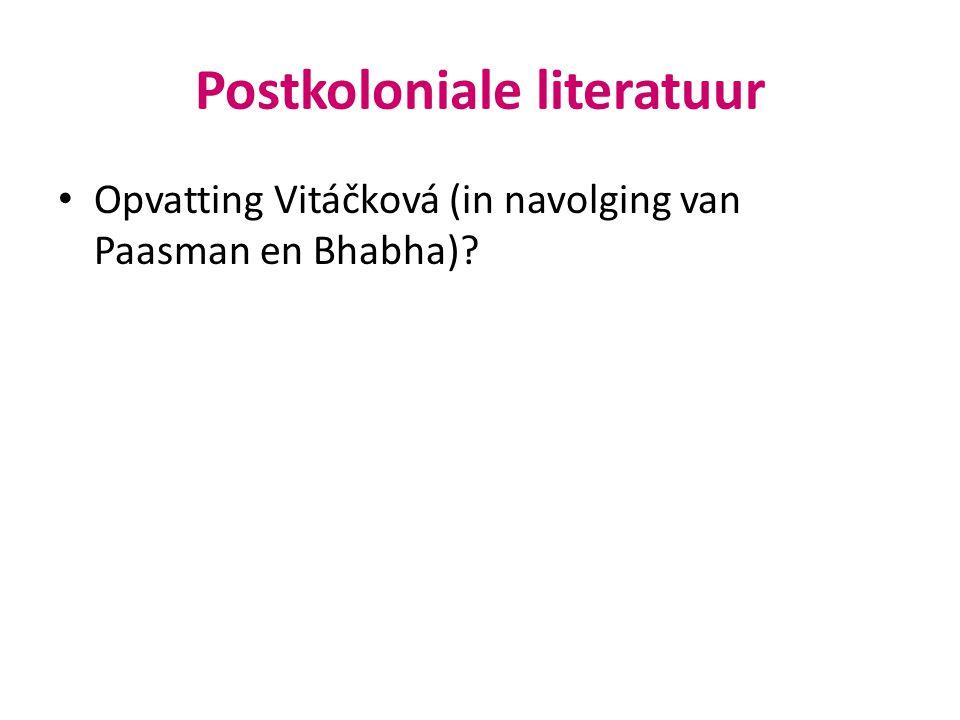 Postkoloniale literatuur