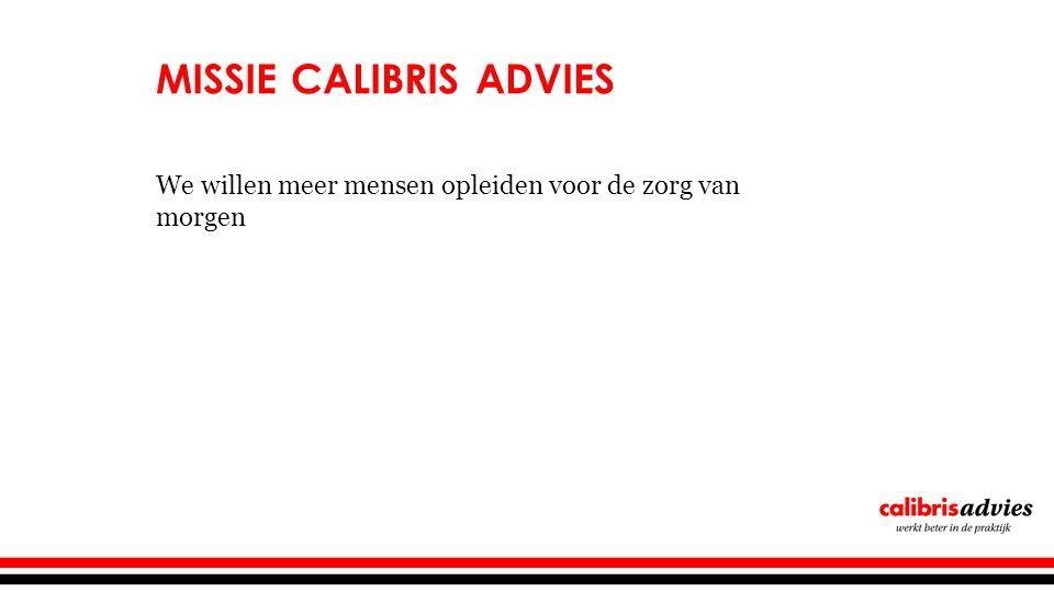 Missie Calibris advies