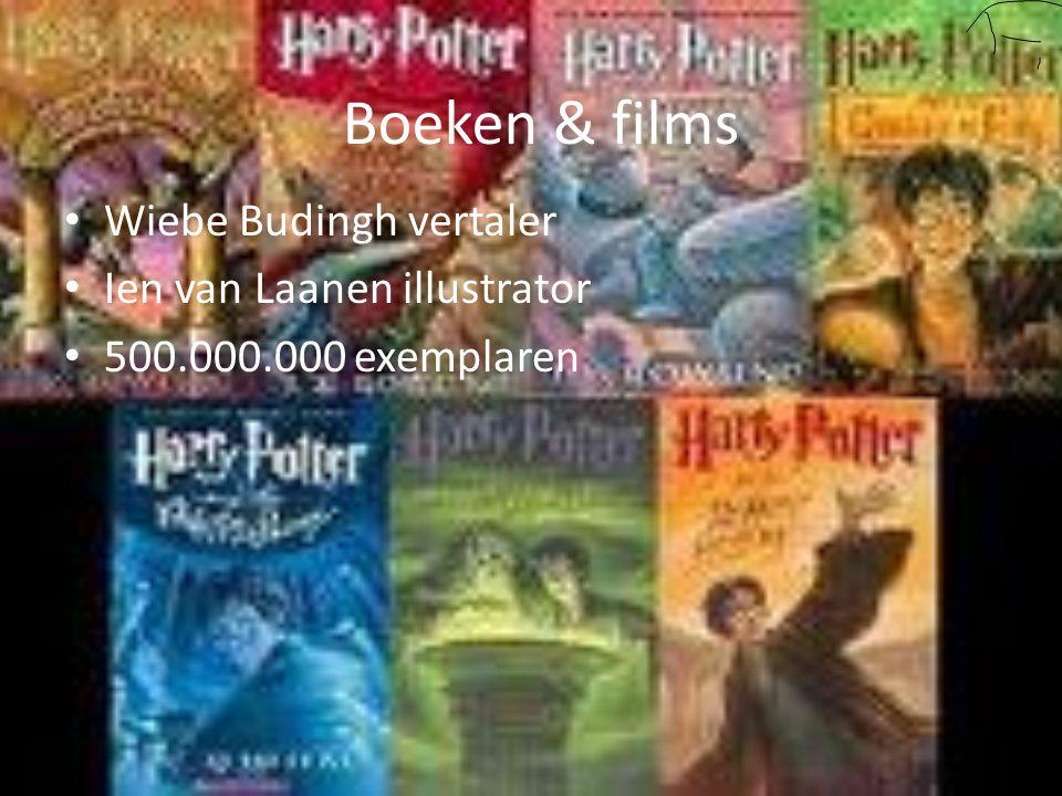 Boeken & films Wiebe Budingh vertaler Ien van Laanen illustrator