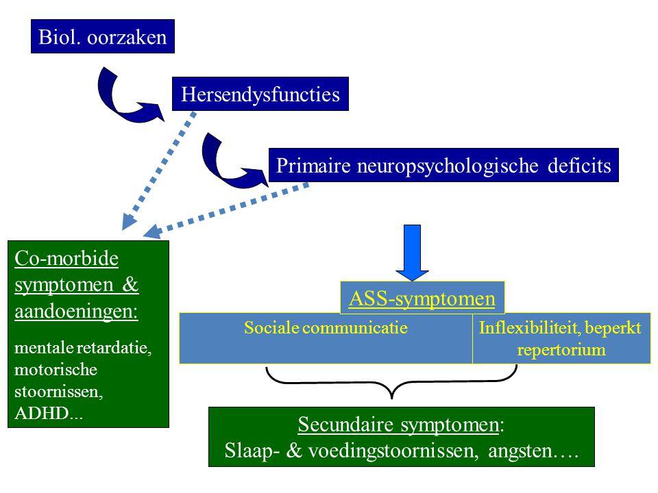 Primaire neuropsychologische deficits