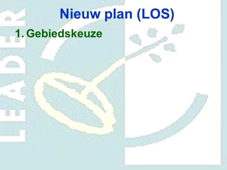 Nieuw plan (LOS) Gebiedskeuze