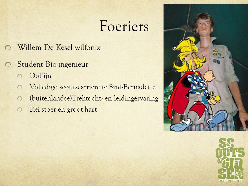 Foeriers Willem De Kesel wilfonix Student Bio-ingenieur Dolfijn