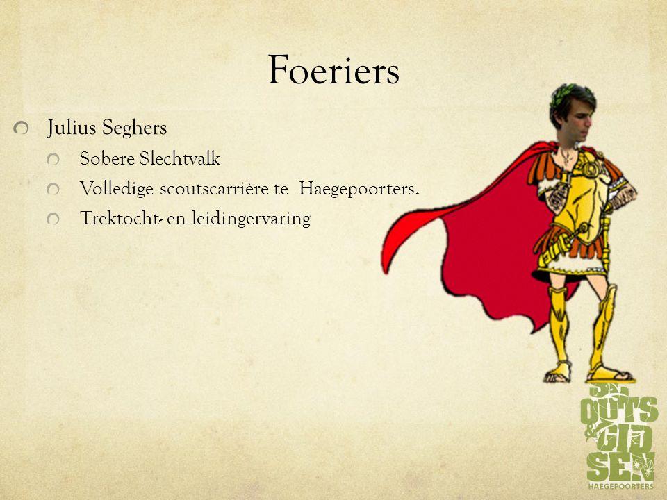Foeriers Julius Seghers Sobere Slechtvalk