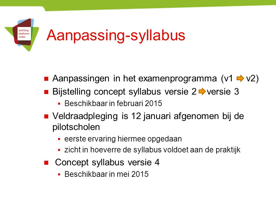 Aanpassing-syllabus Aanpassingen in het examenprogramma (v1 v2)