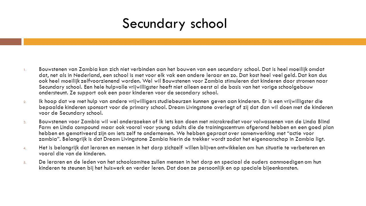 Secundary school