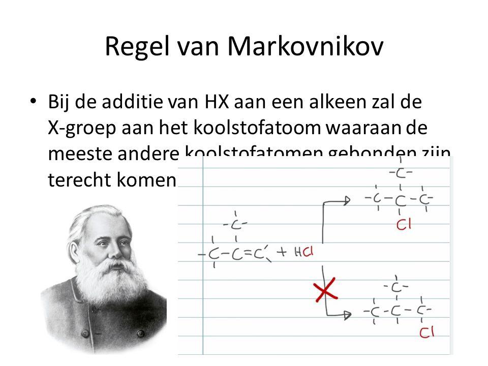Regel van Markovnikov