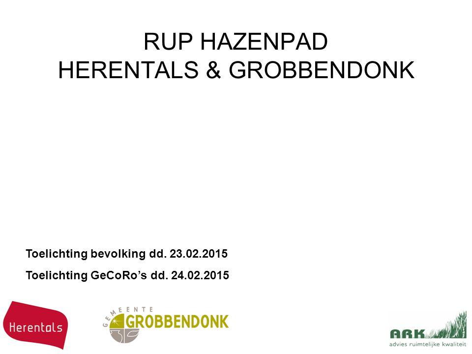RUP HAZENPAD HERENTALS & GROBBENDONK