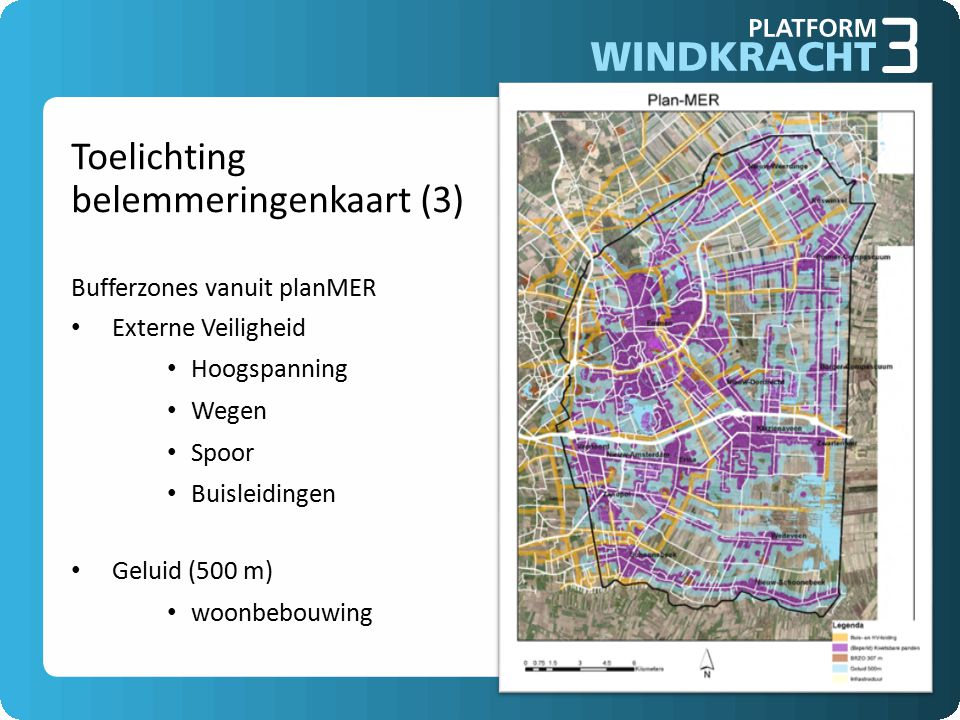 Toelichting belemmeringenkaart (3) Bufferzones vanuit planMER