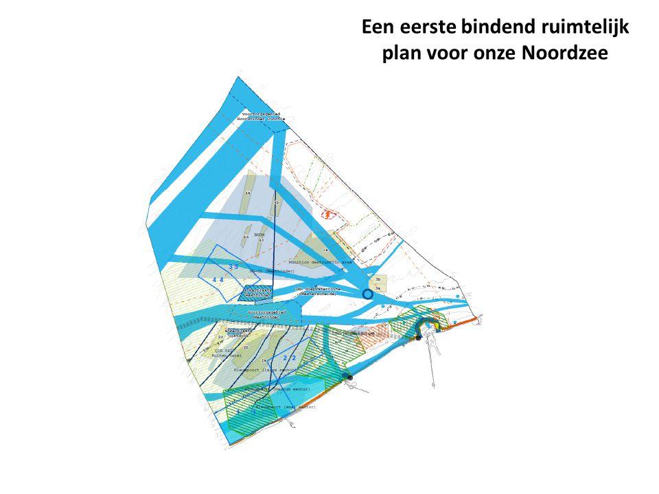 Een eerste bindend ruimtelijk plan voor onze Noordzee