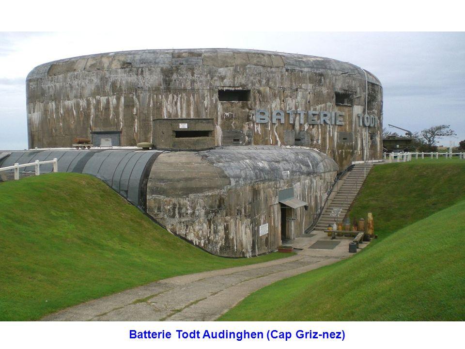 Batterie Todt Audinghen (Cap Griz-nez)