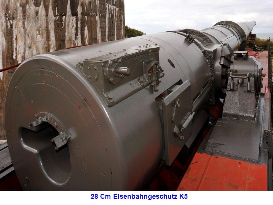 28 Cm Eisenbahngeschutz K5