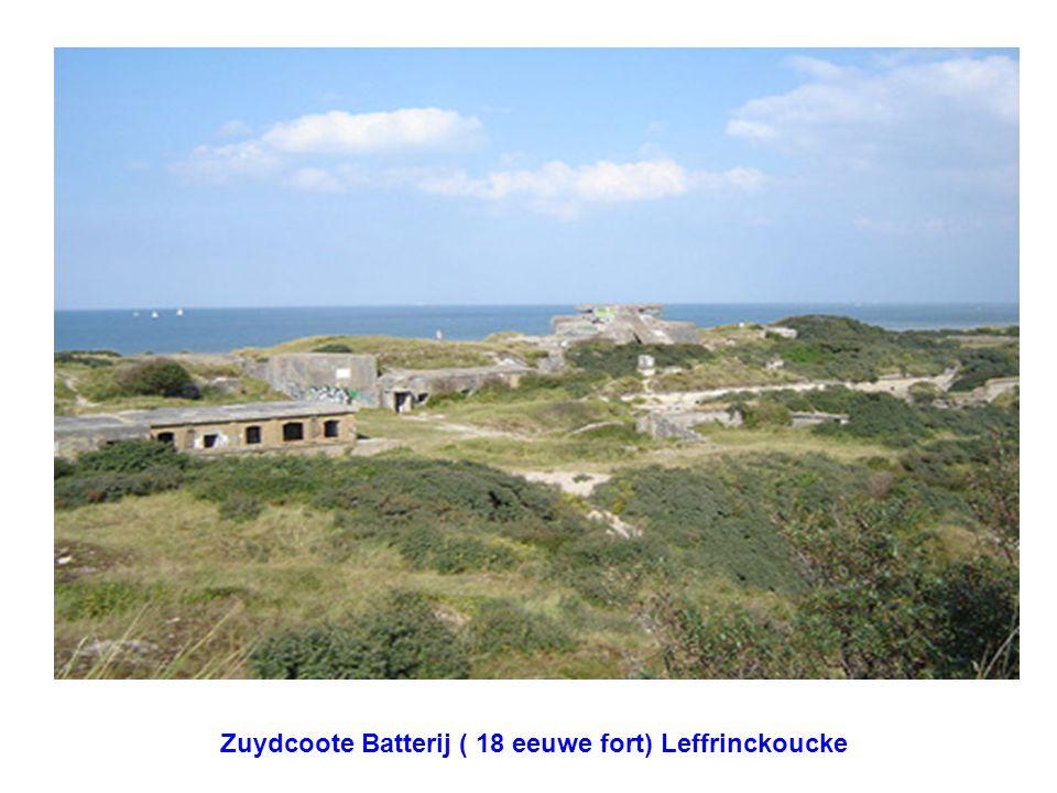 Zuydcoote Batterij ( 18 eeuwe fort) Leffrinckoucke