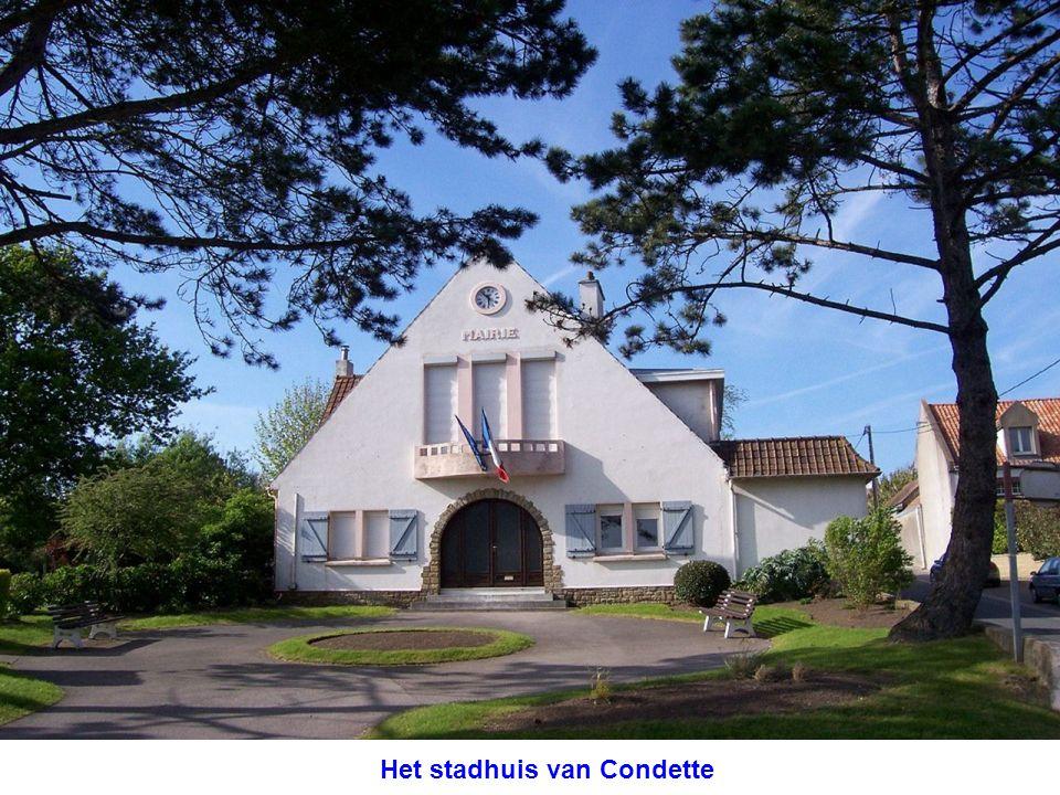 Het stadhuis van Condette