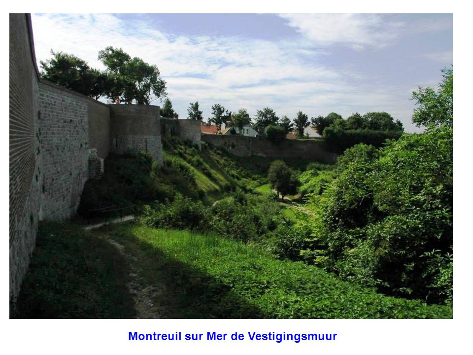 Montreuil sur Mer de Vestigingsmuur