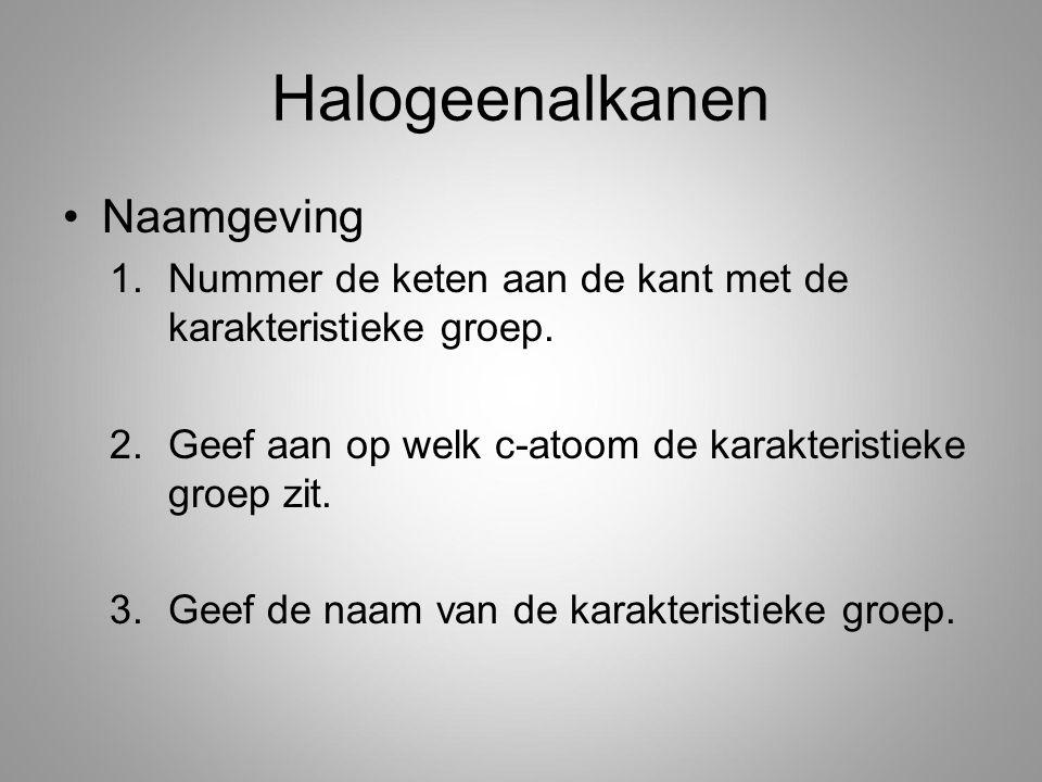 Halogeenalkanen Naamgeving