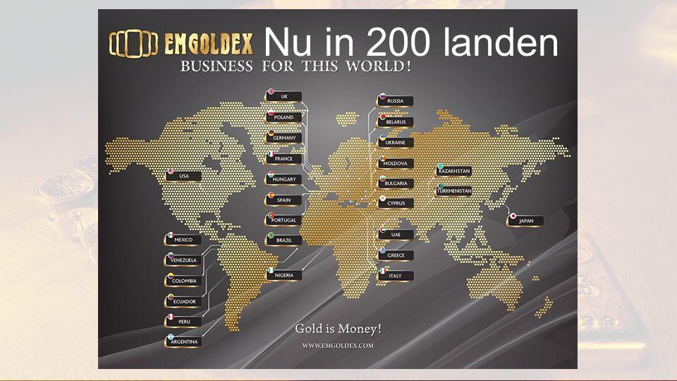 Nu in 200 landen