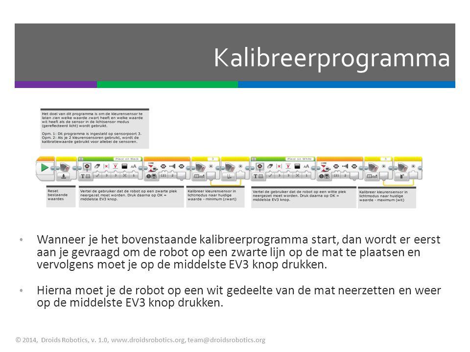 Kalibreerprogramma
