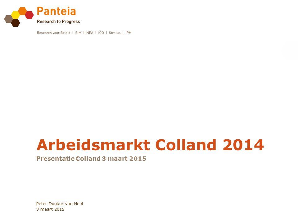 Presentatie Colland 3 maart 2015