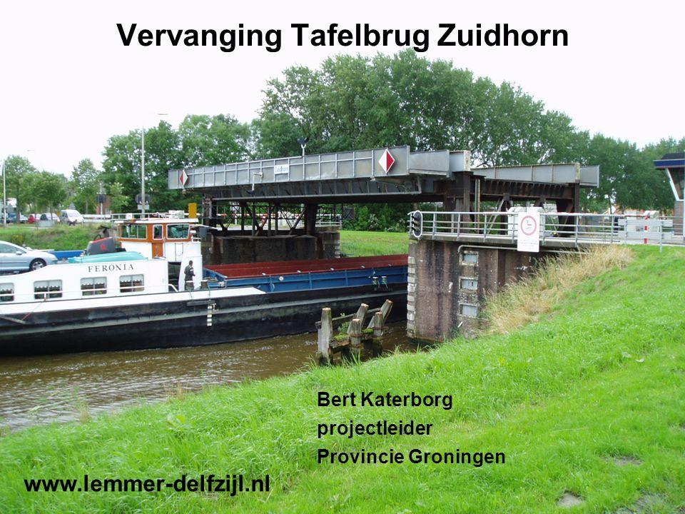 Vervanging Tafelbrug Zuidhorn