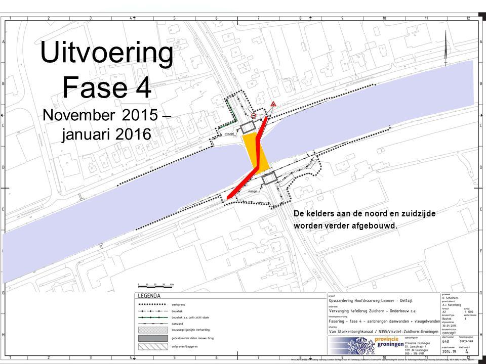 Uitvoering Fase 4 November 2015 – januari 2016