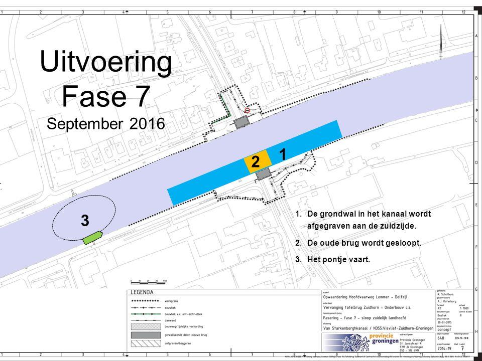Uitvoering Fase 7 September 2016 1 2 3