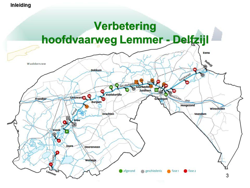 Verbetering hoofdvaarweg Lemmer - Delfzijl
