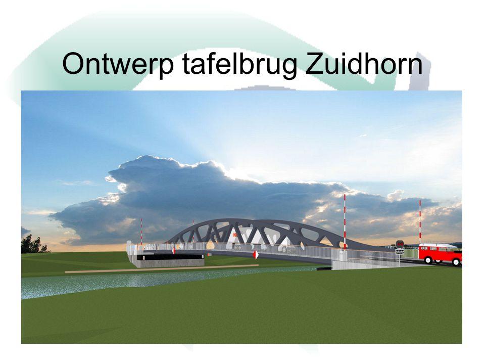Ontwerp tafelbrug Zuidhorn