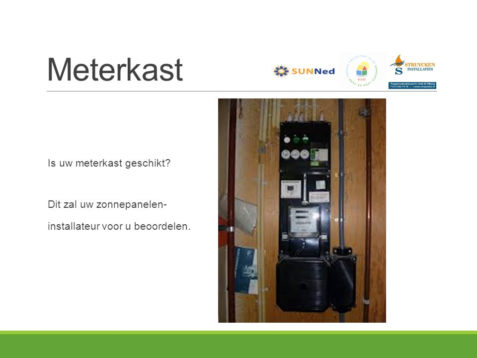 Meterkast Is uw meterkast geschikt Dit zal uw zonnepanelen-