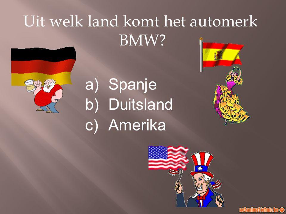 Uit welk land komt het automerk