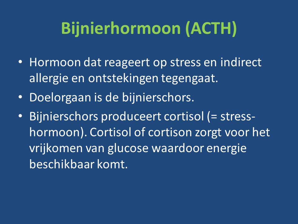 Bijnierhormoon (ACTH)