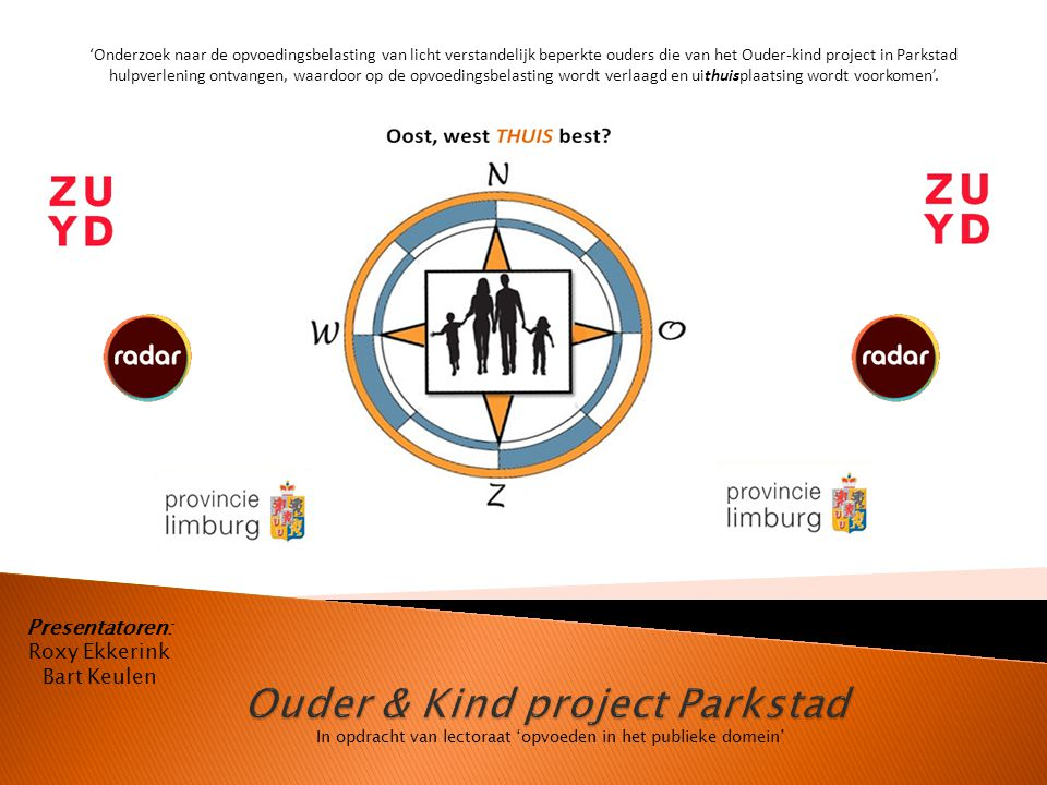 Ouder & Kind project Parkstad