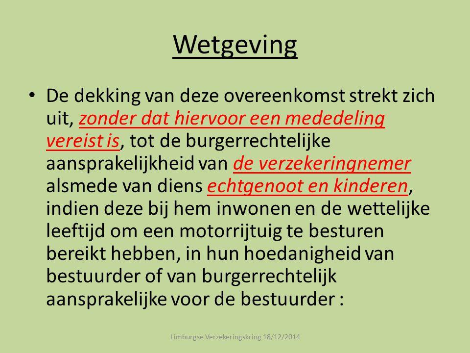 Limburgse Verzekeringskring 18/12/2014