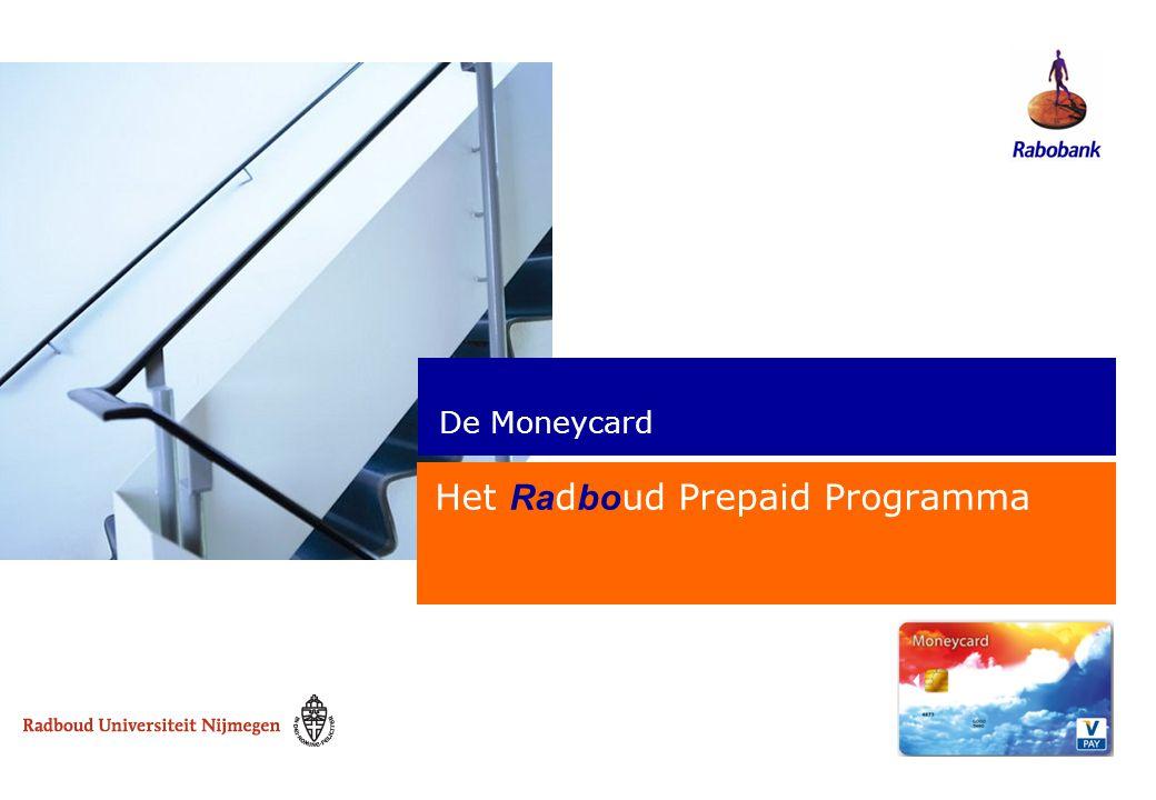 Het Radboud Prepaid Programma