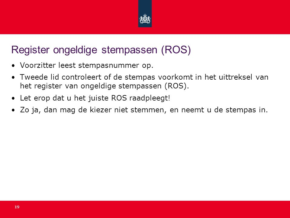 Register ongeldige stempassen (ROS)
