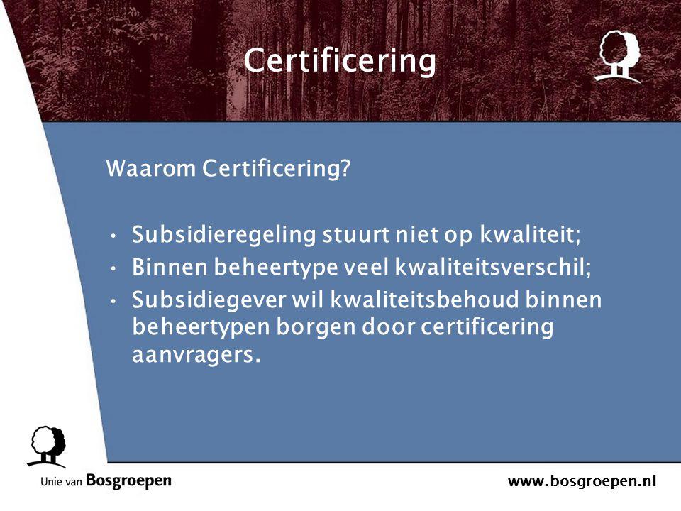 Certificering Waarom Certificering