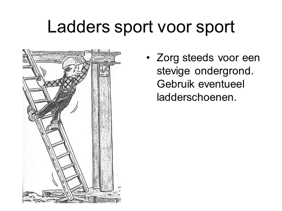 Ladders sport voor sport