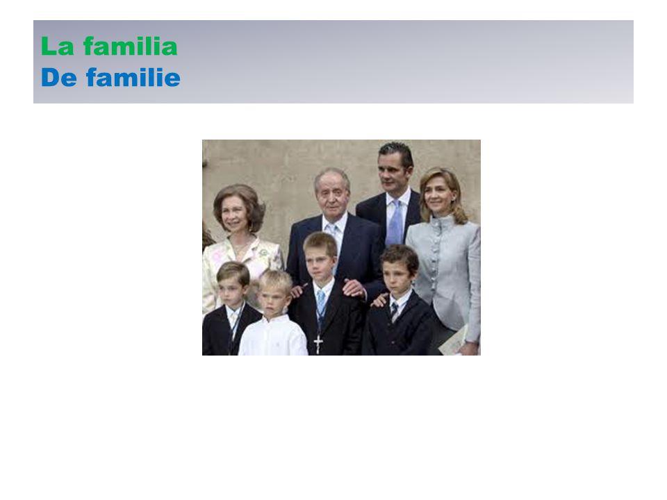 La familia De familie