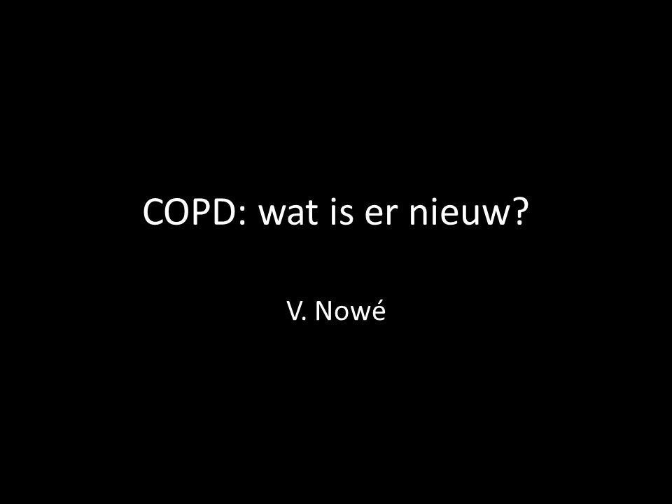 COPD: wat is er nieuw V. Nowé