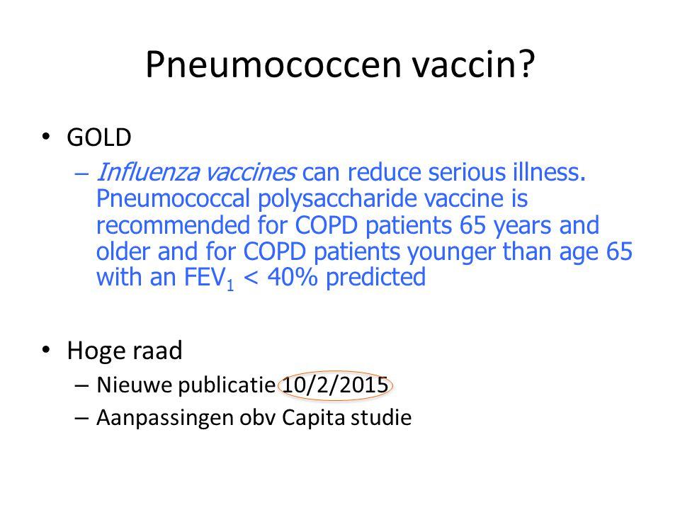 Pneumococcen vaccin GOLD Hoge raad