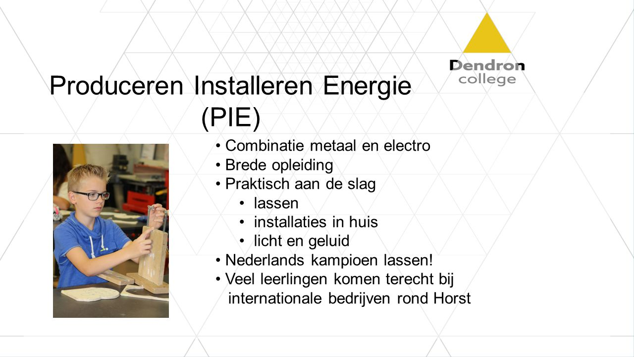 Produceren Installeren Energie (PIE)
