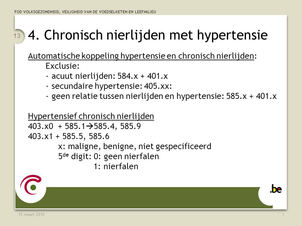 4. Chronisch nierlijden met hypertensie