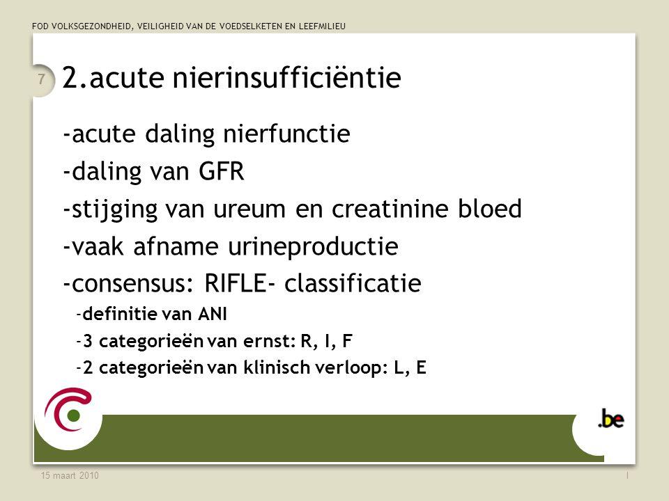 2.acute nierinsufficiëntie